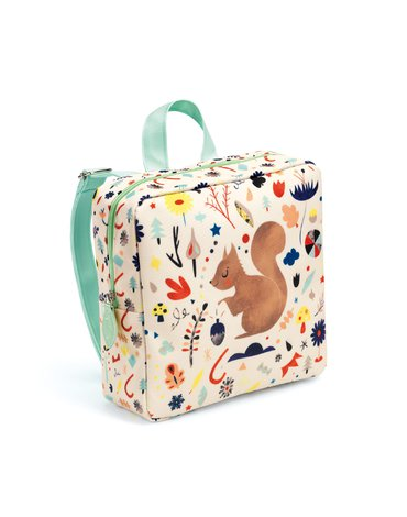 Djeco - Plecak dziecięcy WIEWIÓRKA DD00250
