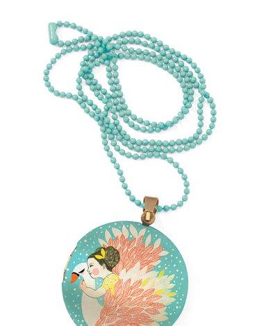 Djeco - Kolorowy naszyjnik - medalion ABD DD03841