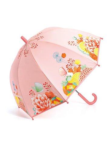 Djeco - Parasol przeciwdeszczowy KWIATOWY OGRÓD DD04701