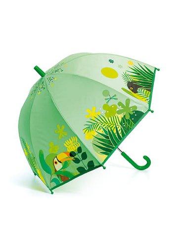 Djeco - Parasol przeciwdeszcz.TROPIKALNA DŻUNGLA DD04702
