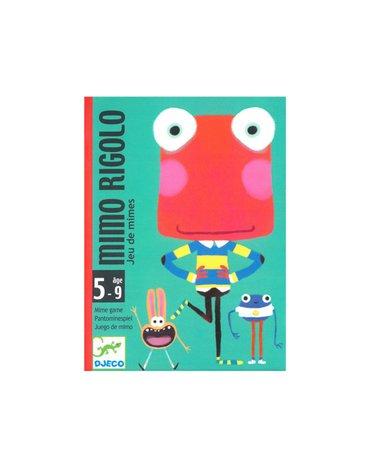 Djeco - Gra karciana MIMO RIGOLO DJ05138