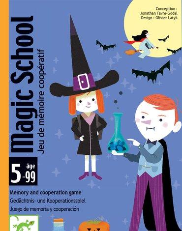 Djeco - Gra karciana Magic school DJ05144