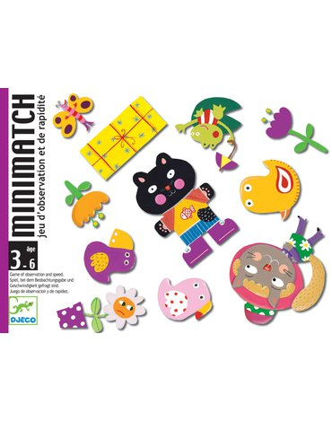 Djeco - Gra karciana Minimatch DJ05175
