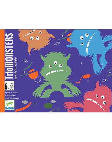 Djeco - Gra strategiczna TrioMonster DJ05187