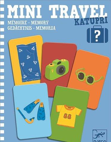 Djeco - Mini gra podróżna pamięciowa KATUPRI DJ05370