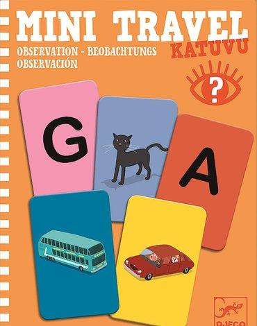 Djeco - Mini gra podróżna obserwacyjna KATUVU DJ05371