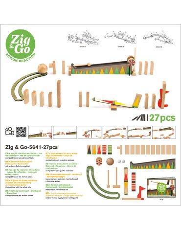 Djeco - Zestaw Zig & Go-27 element. DJ05641
