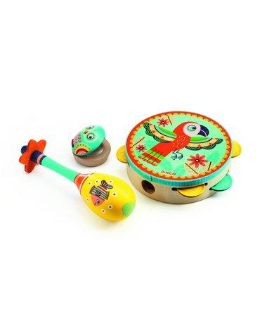 Djeco - Zestaw 3 - instrumentów DJ06016
