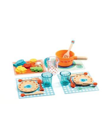 Djeco - Odgrywanie ról - zestaw obiadowy DJ06547