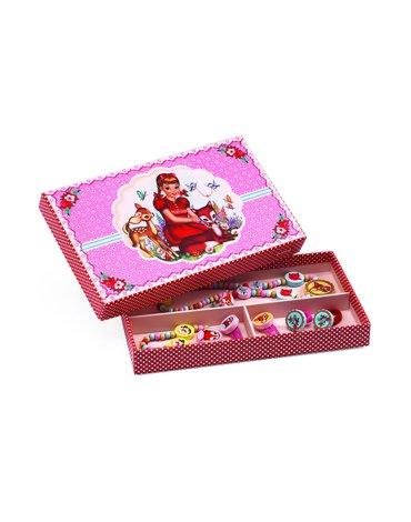 Djeco - Zestaw biżuterii drewnianej JELONEK BAMBI DJ06590