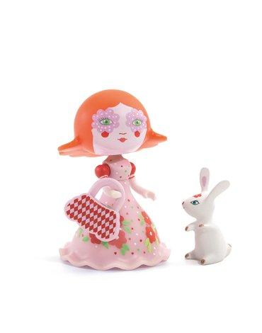 Djeco - Figurka księżniczki Elodia z króliczkiem DJ06780