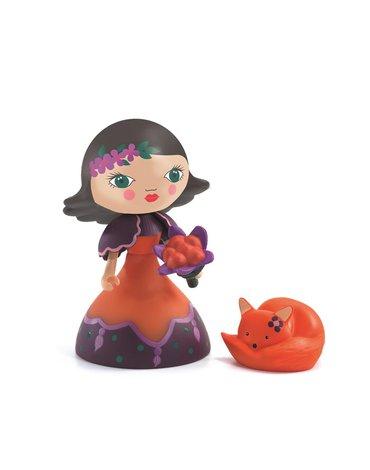Djeco - Figurka księżniczki Oya i lisek DJ06782