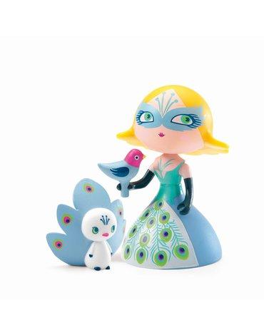 Djeco - Figurka księżniczka COLUMBA z ptaszkami  DJ06784