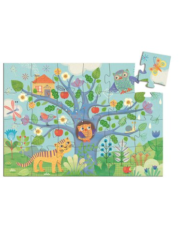 Djeco - Puzzle tekturowe SOWA  24 el. DJ07215