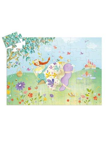 Djeco - Puzzle tekturowe KSIĘŻNICZKA WIOSNA  DJ07238