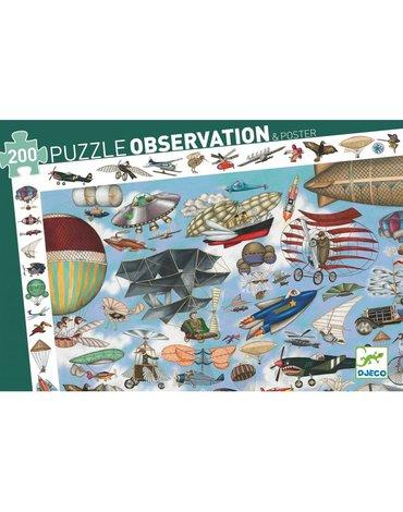 Djeco - Puzzle obserwacja AERO KLUB DJ07451