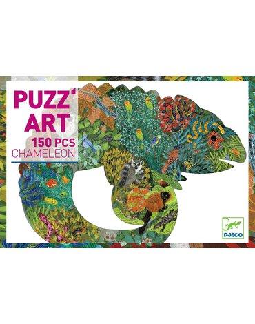 Djeco - Puzzle artystyczne KAMELEON - 150 elem. DJ07655