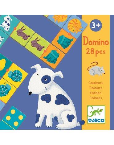 Djeco - Domino KOLOROWE ZWIERZTKA DJ08111