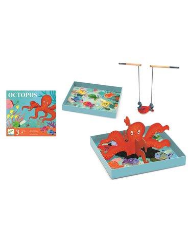 Djeco - Gra zręcznościowa z wędkami OŚMIORNICA DJ08405