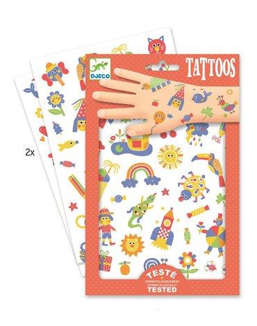 Djeco - Tatuaże SŁODZIAKI DJ09589