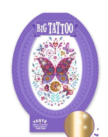 Djeco - Tatuaż MOTYLE DJ09604