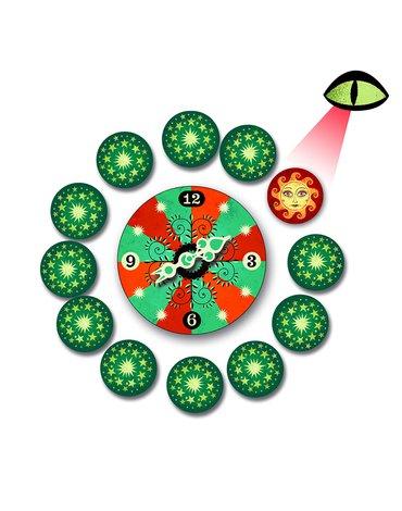 Djeco - Zestaw magiczny Horlogium DJ09944