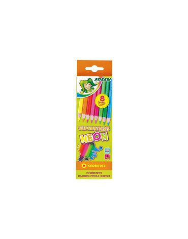 Jolly - Kredki Supersticks neon 8 kolorów