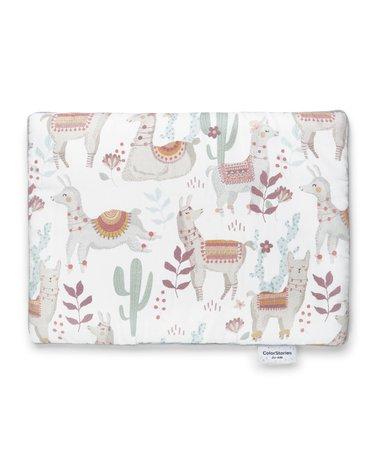 ColorStories - Poduszka dla niemowlaka Lazy Llamas