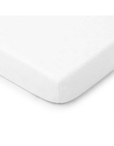 ColorStories - Prześcieradło do łóżeczka 140x70cm White