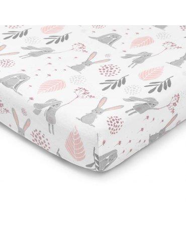 ColorStories - Prześcieradłodo łóżeczka 140x70cm Bunny