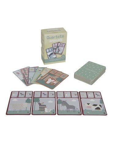 Little Dutch Gra w karty kwartetu - zwierzęta LD4481