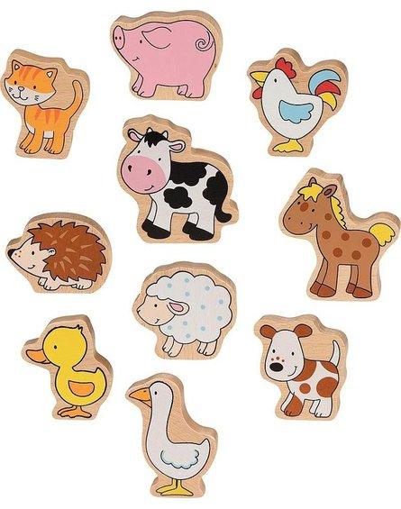 Goki® - Farma figurki – zestaw 10 sztuk