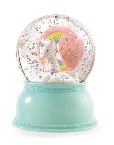 Djeco - świecąca kula śnieżna JEDNOROŻEC DD03408