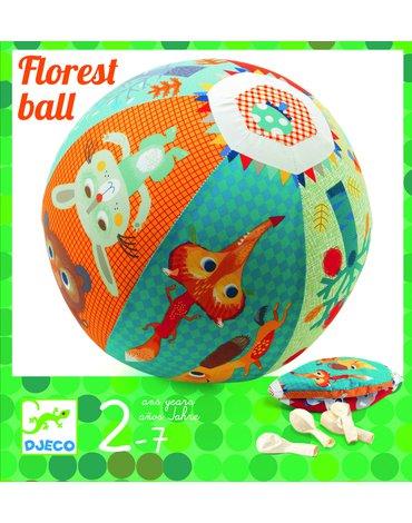 Djeco - Piłka materiałowa LAS z balonami  DJ02053