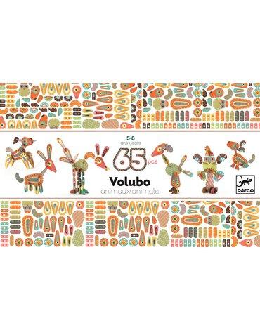 Djeco - Puzzle Volubo 3D ZWIERZĄTKA DJ05630