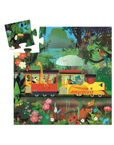 Djeco - Puzzle LOKOMOTYWA  16el. DJ07267