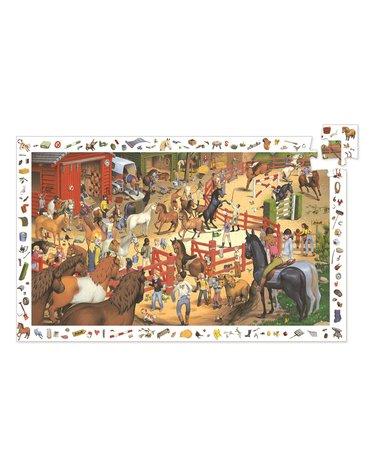 Djeco - Puzzle JAZDA KONNA  200 el. DJ07454