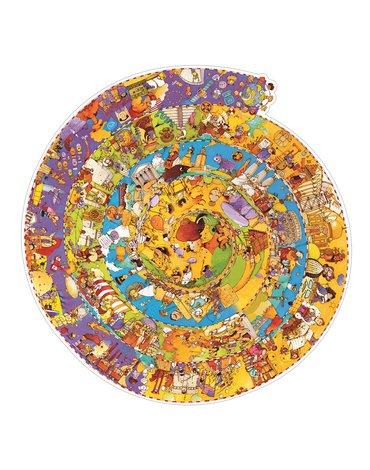 Djeco - Puzzle na okrągło Historia świata DJ07470