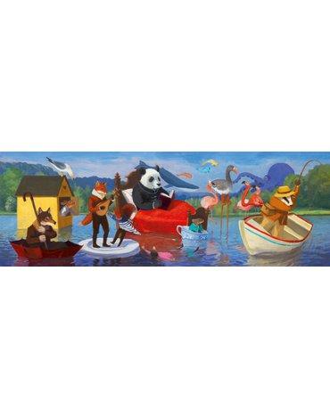 Djeco - Puzzle tektur.gallery LETNIE JEZIORO  DJ07617