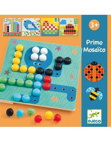 Djeco - Mozaika PRIMO-kolorowe obrazki DJ08140