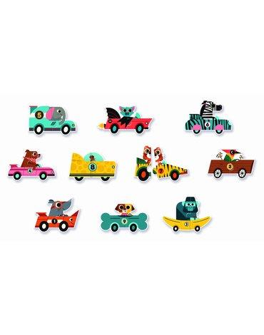 Djeco - Puzzle duo WYŚCIGÓWKI DJ08148