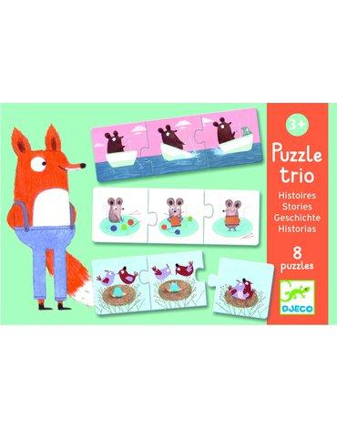 Djeco - Puzzle Trio - Historyjki DJ08149