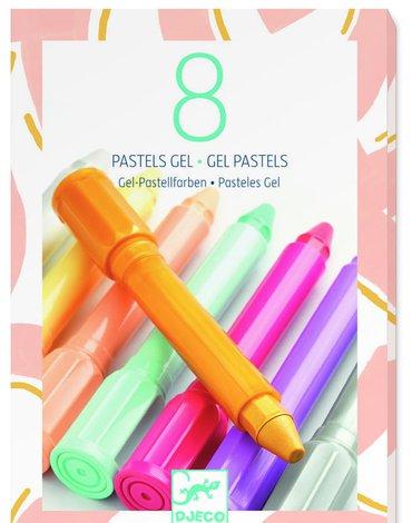 Djeco - Zestaw 8 pasteli metalicznych DJ08814