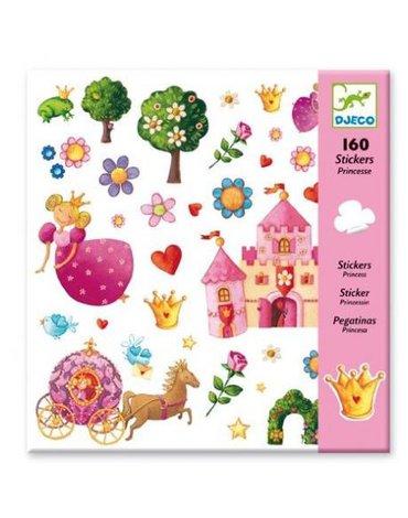 Djeco - Zestaw naklejek 160cz- księżniczka DJ08830
