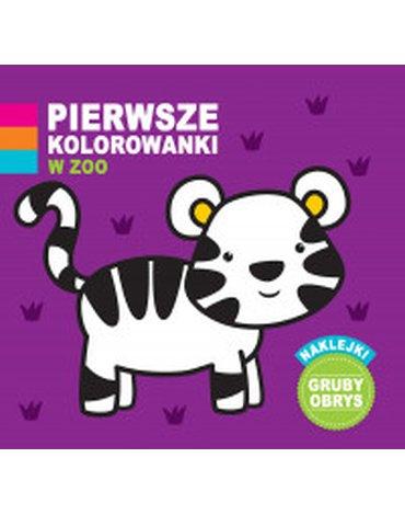 Foksal - Pierwsze kolorowanki. W zoo