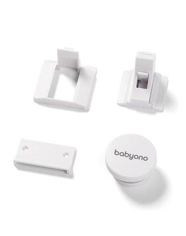 BABYONO - 946 Zabezpieczenia do mebli. Blokada magnetyczna 4szt