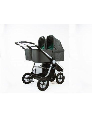 Bumbleride Gondola do wózka Indie Twin Dawn Grey