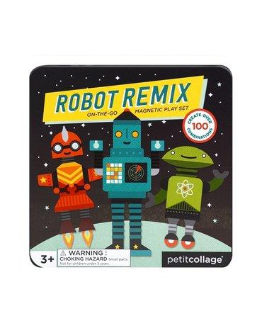 Petit Collage Magnetyczne Postacie Roboty