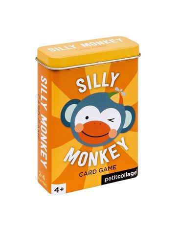 Petit Collage Gra Karciana Silly Monkey