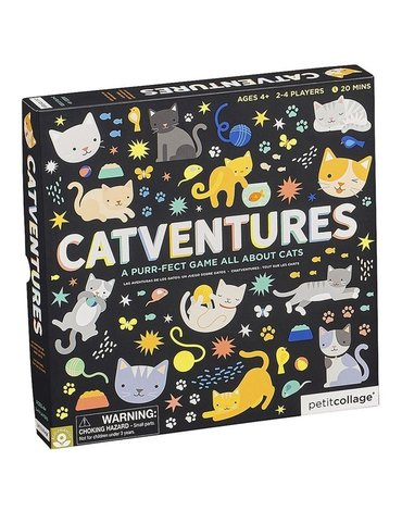 Petit Collage Gra Planszowa Catventures